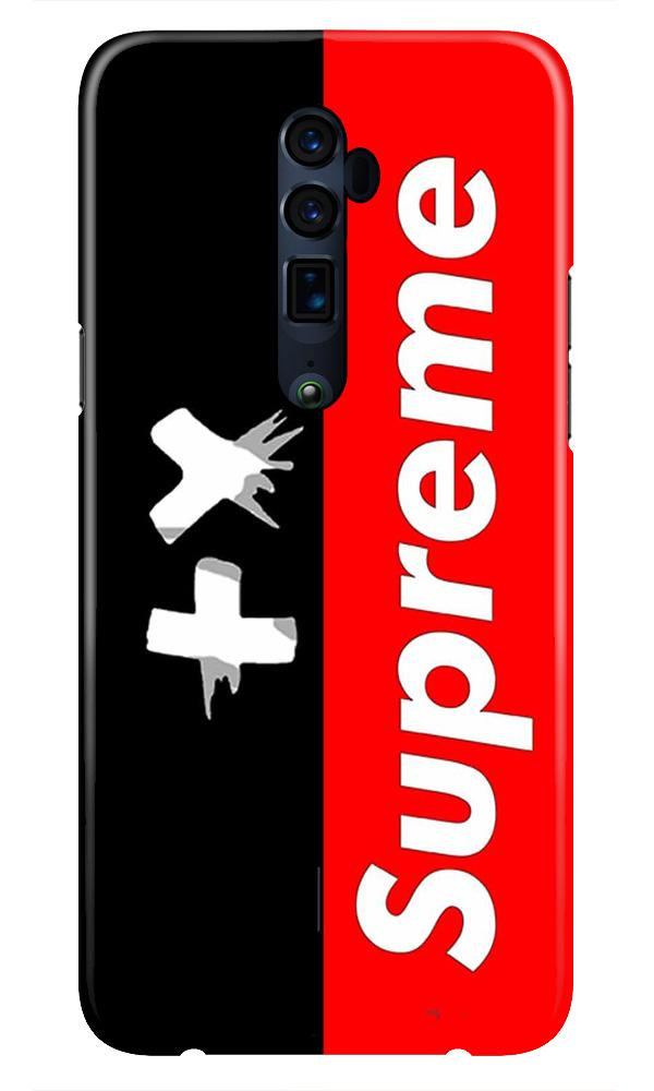 Supreme Mobile Back Case for Oppo Reno 10X Zoom  (Design - 389)