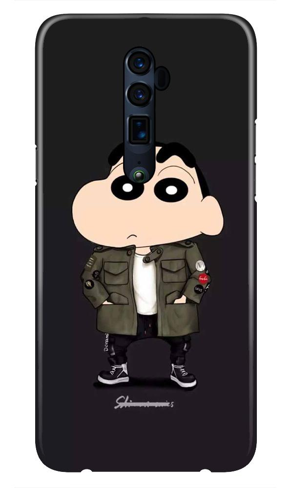 Shin Chan Mobile Back Case for Oppo Reno 10X Zoom  (Design - 391)