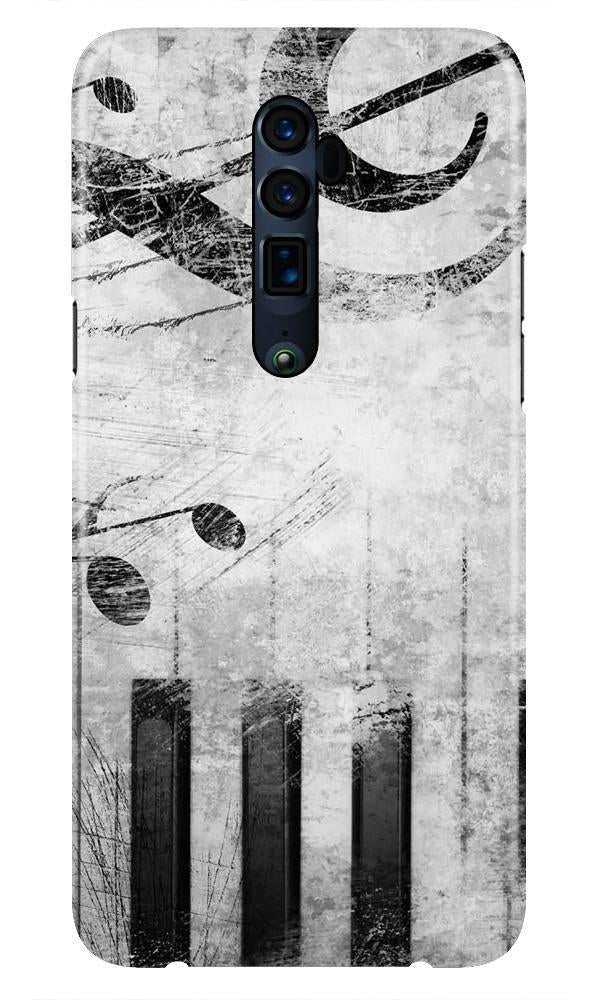Music Mobile Back Case for Oppo Reno 10X Zoom  (Design - 394)