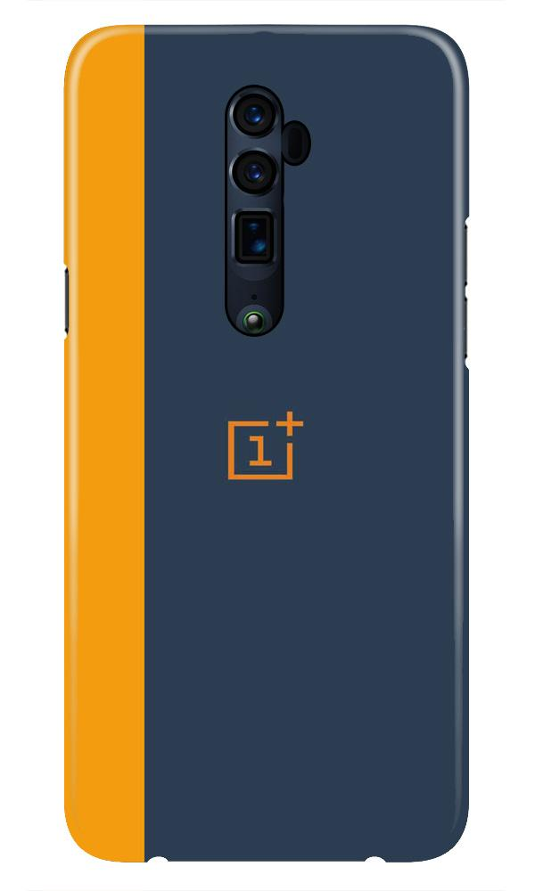 Oneplus Logo Mobile Back Case for Oppo Reno 10X Zoom  (Design - 395)