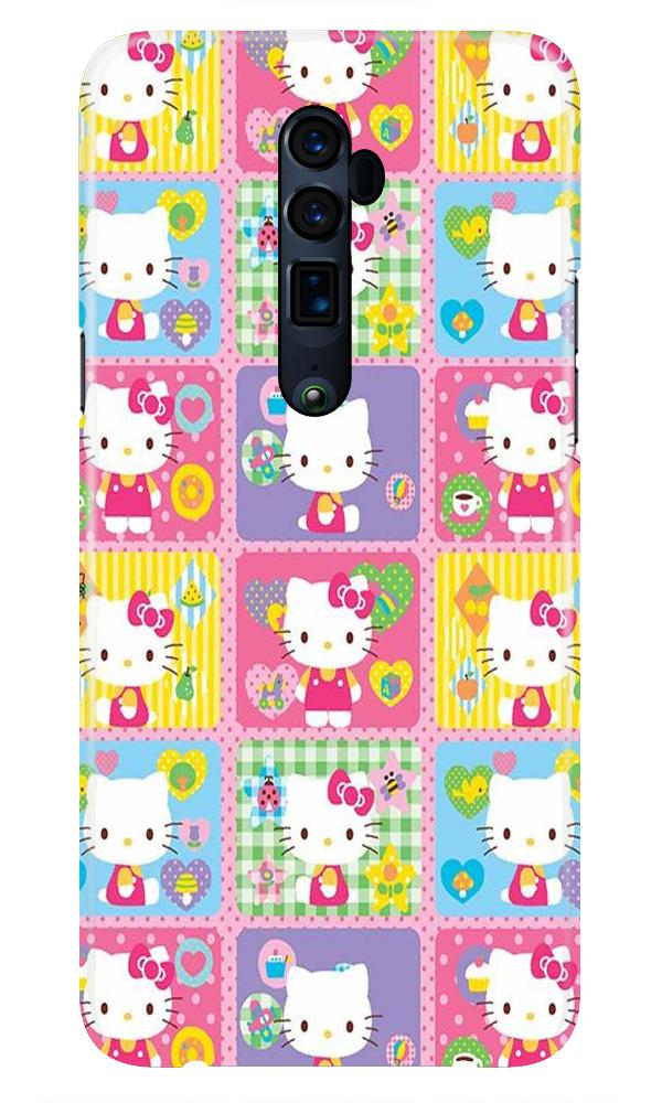 Kitty Mobile Back Case for Oppo Reno 10X Zoom  (Design - 400)