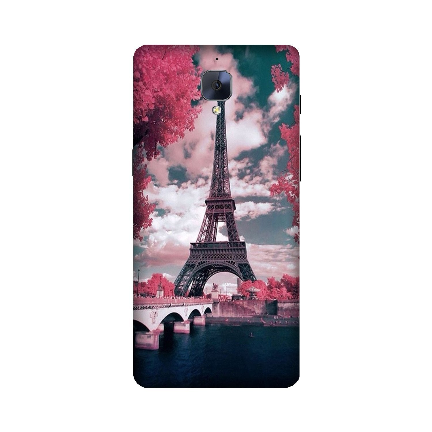 Eiffel Tower Case for OnePlus 3/ 3T  (Design - 101)