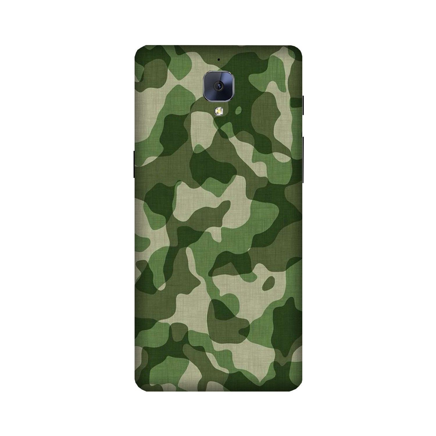 Army Camouflage Case for OnePlus 3/ 3T  (Design - 106)