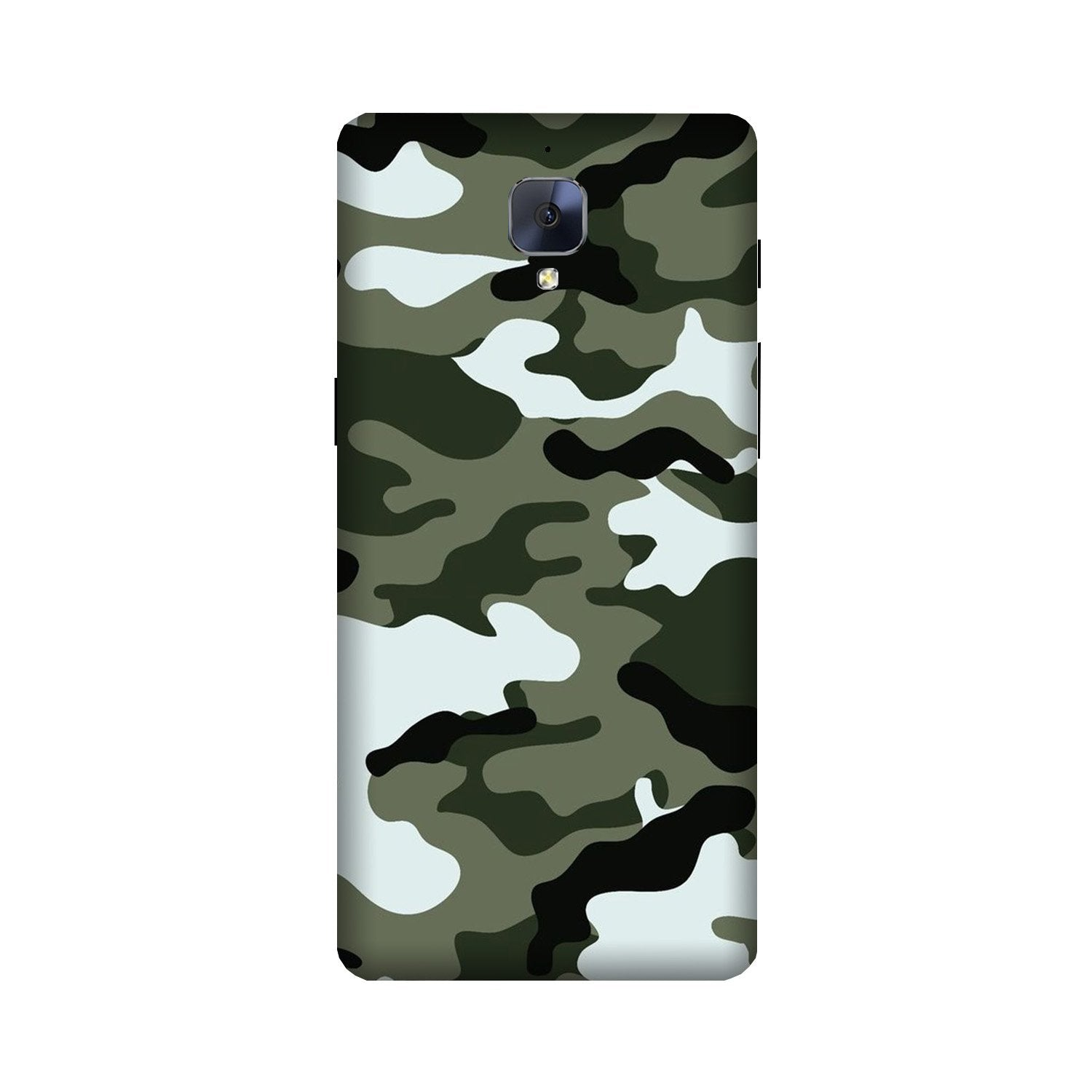 Army Camouflage Case for OnePlus 3/ 3T  (Design - 108)