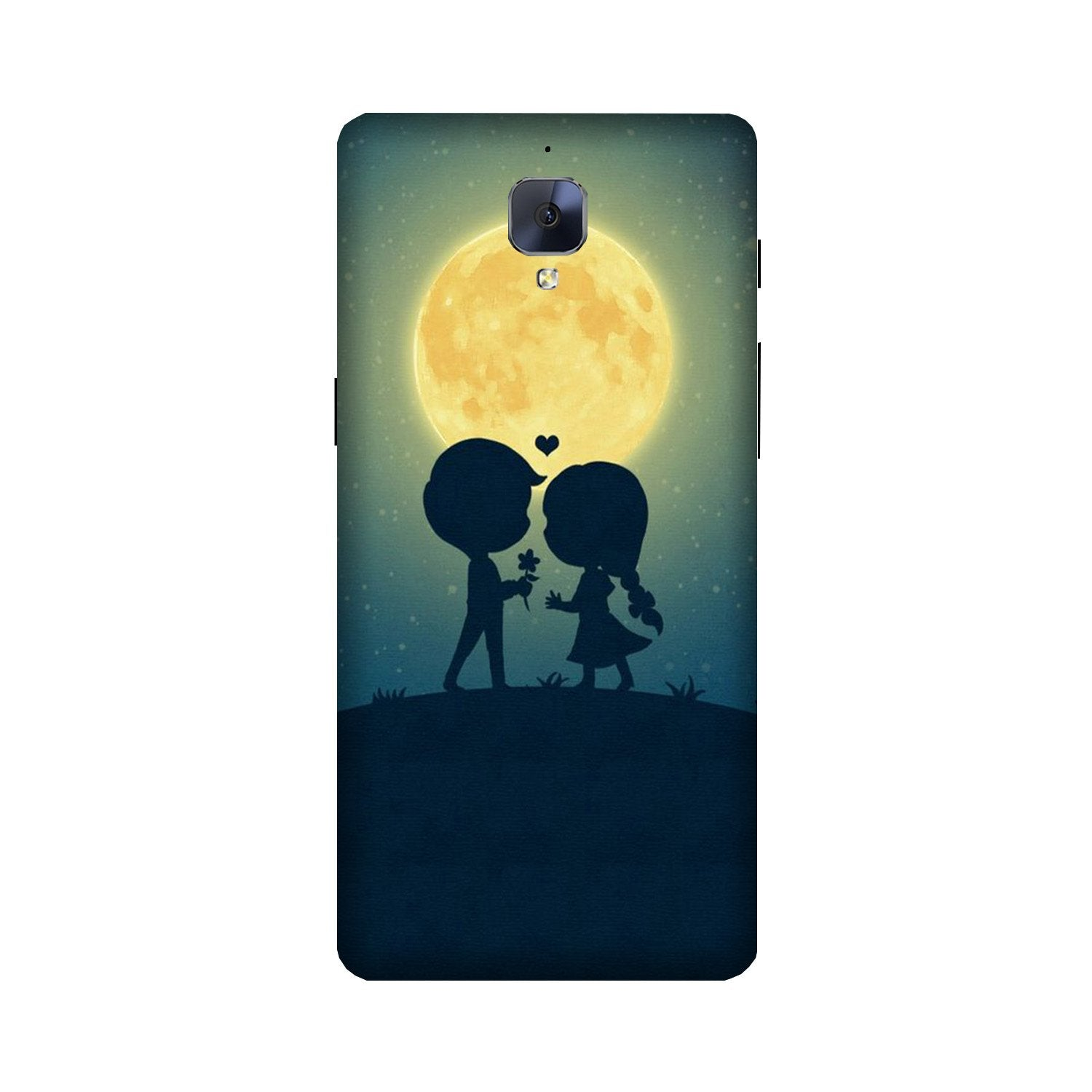 Love Couple Case for OnePlus 3/ 3T  (Design - 109)