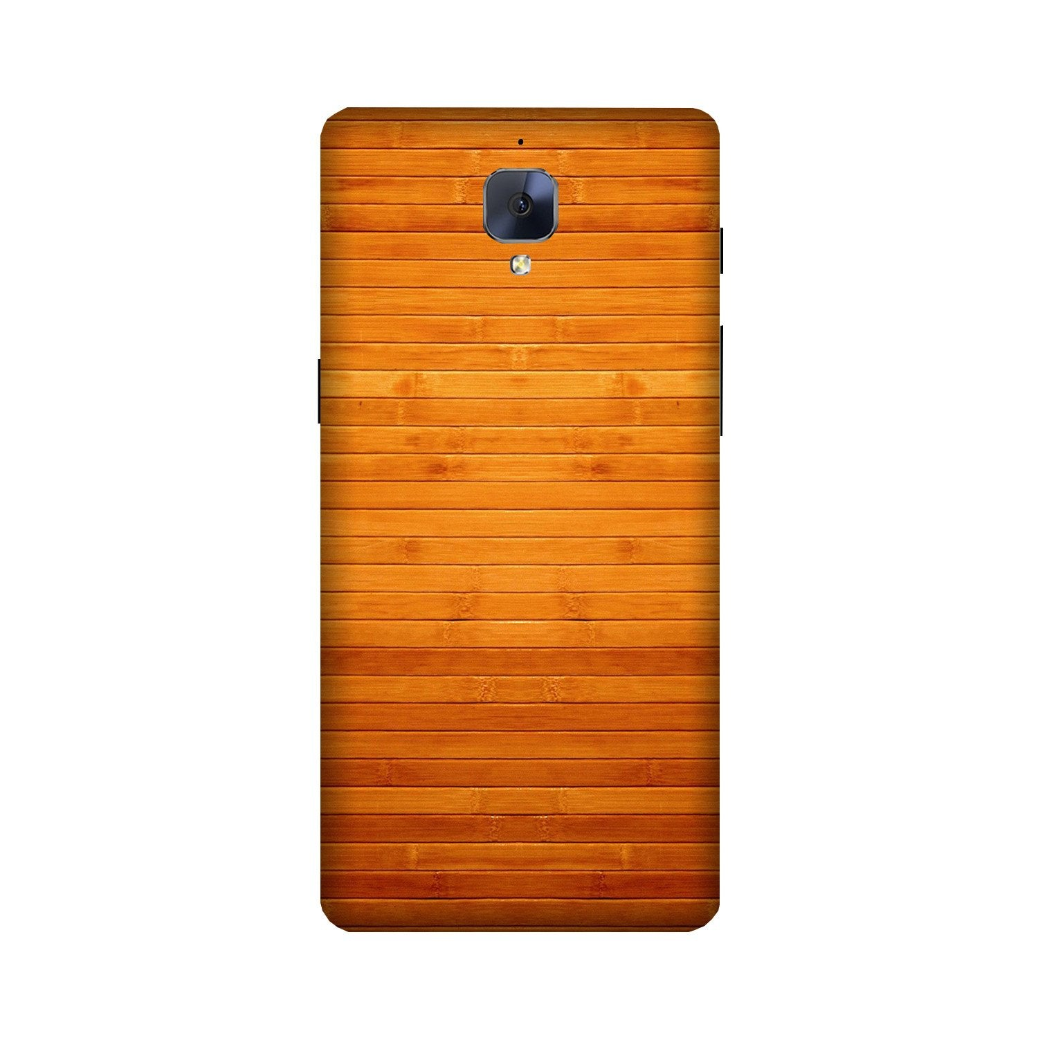 Wooden Look Case for OnePlus 3/ 3T  (Design - 111)