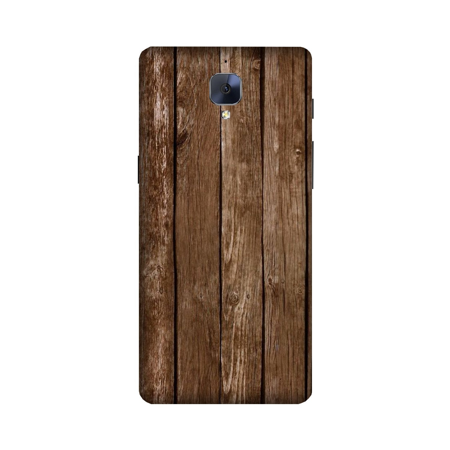 Wooden Look Case for OnePlus 3/ 3T  (Design - 112)
