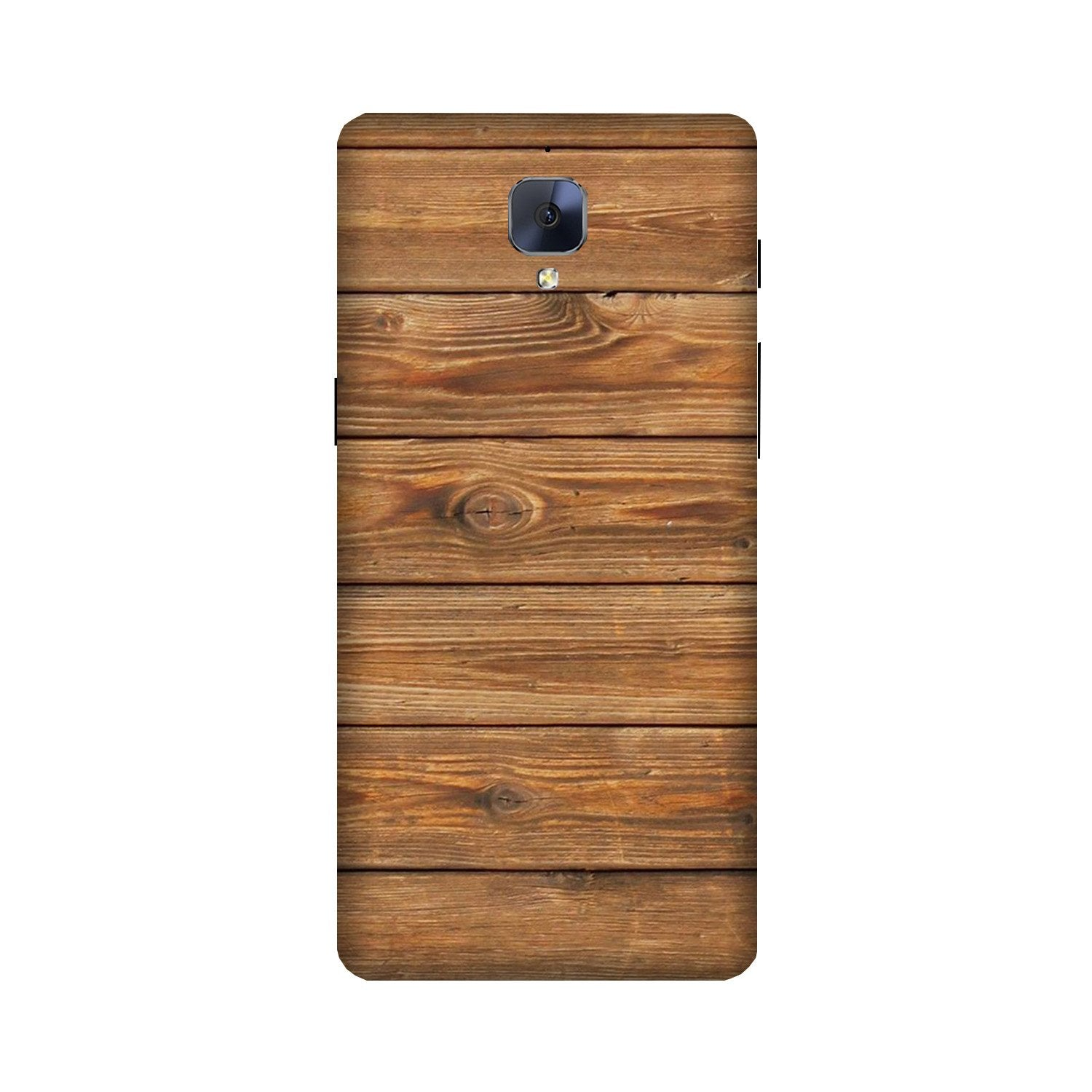 Wooden Look Case for OnePlus 3/ 3T  (Design - 113)