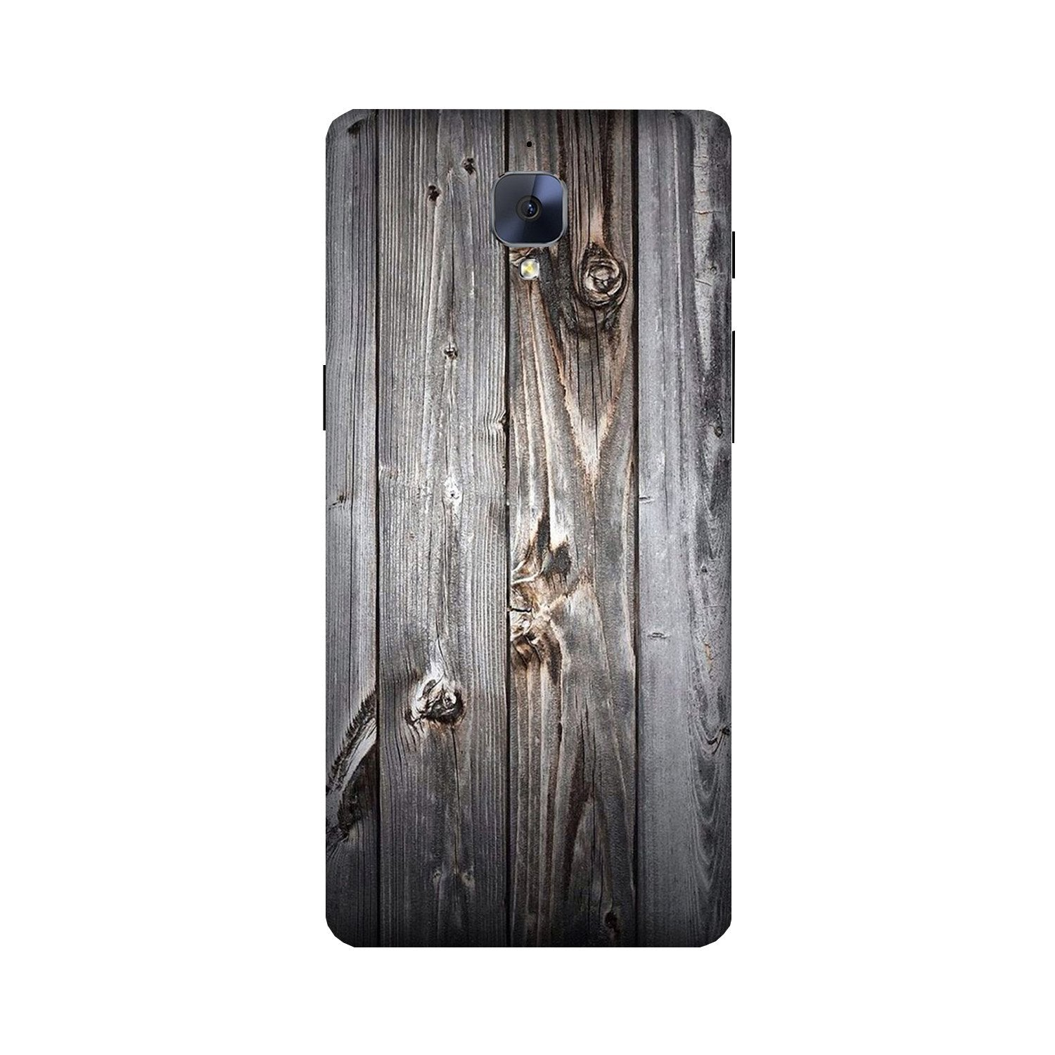 Wooden Look Case for OnePlus 3/ 3T  (Design - 114)