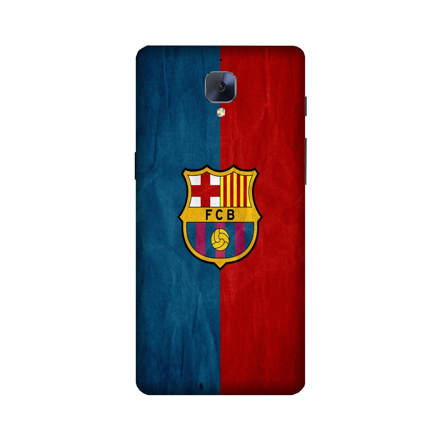 FCB Football Case for OnePlus 3/ 3T  (Design - 123)