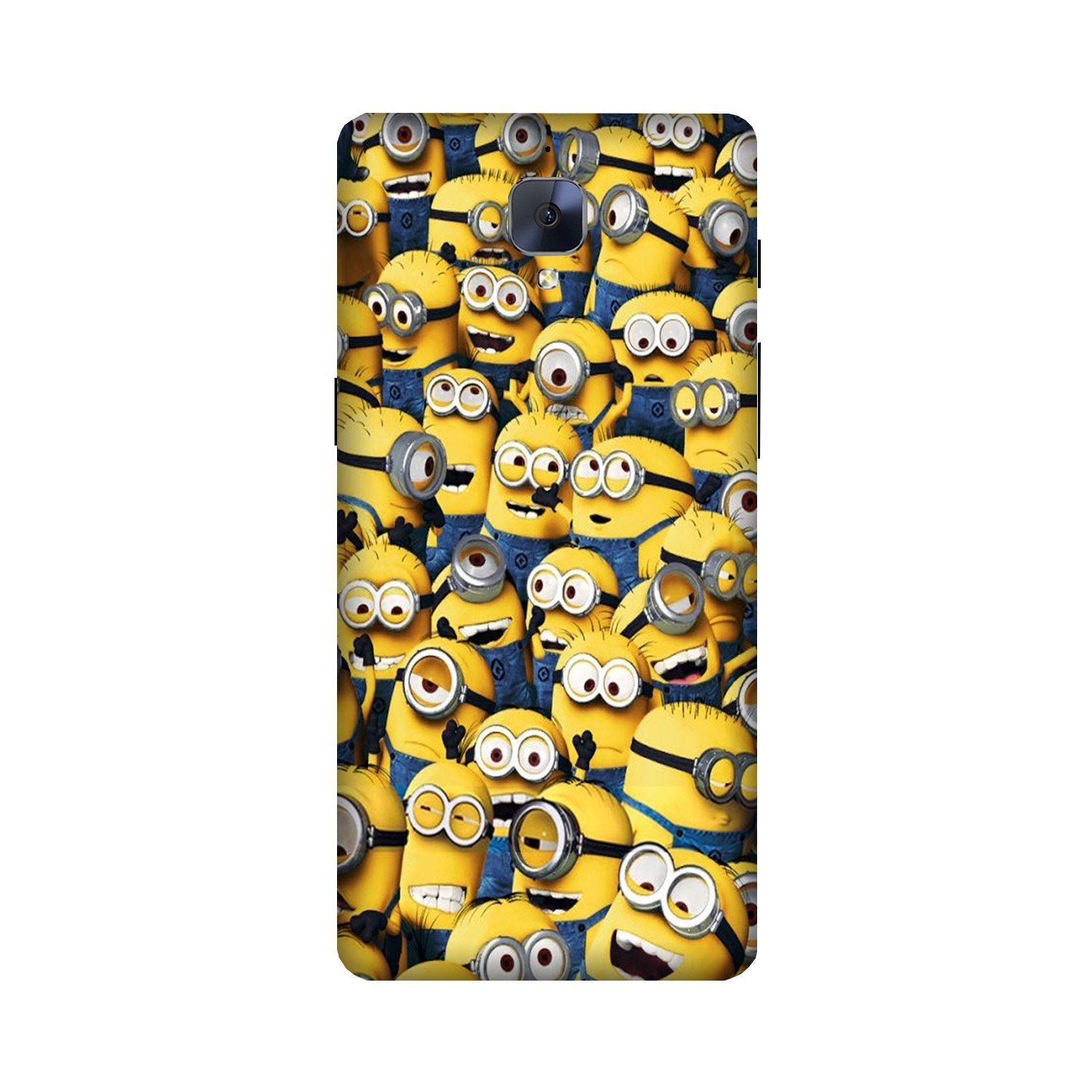 Minions Case for OnePlus 3/ 3T  (Design - 126)