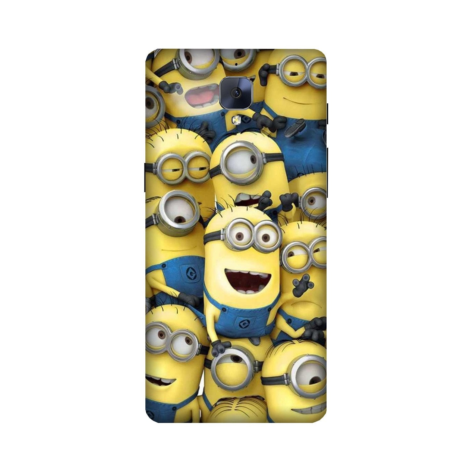 Minions Case for OnePlus 3/ 3T  (Design - 127)