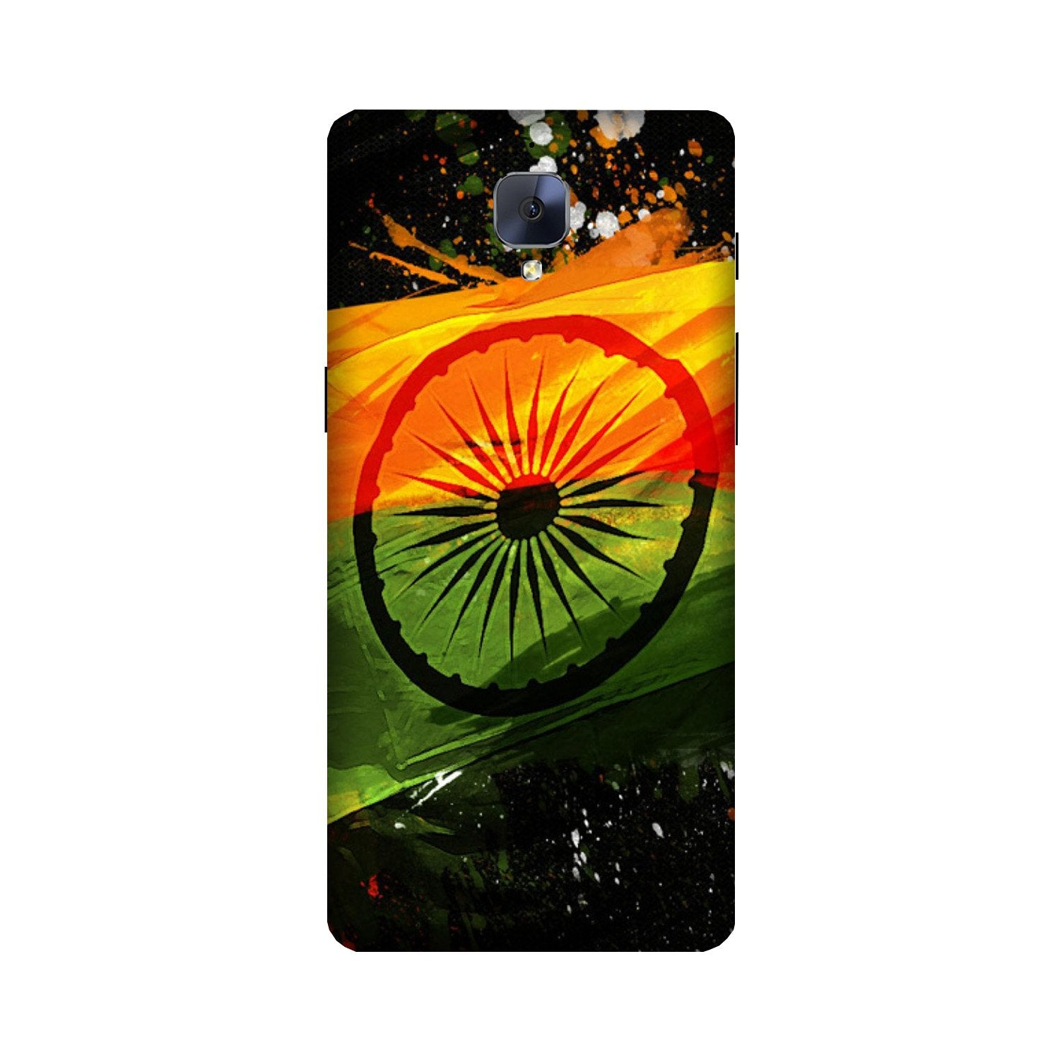 Indian Flag Case for OnePlus 3/ 3T  (Design - 137)