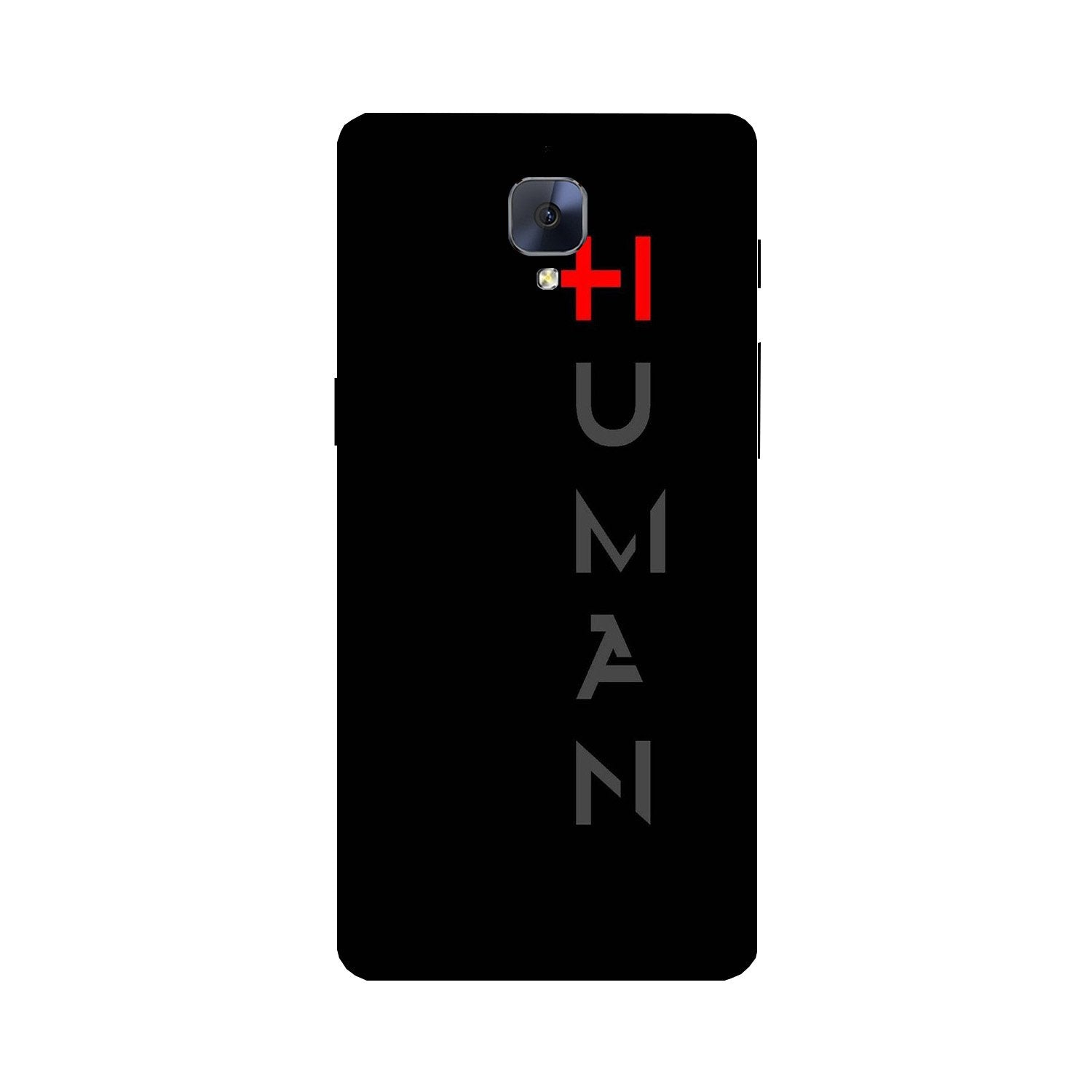 Human Case for OnePlus 3/ 3T  (Design - 141)