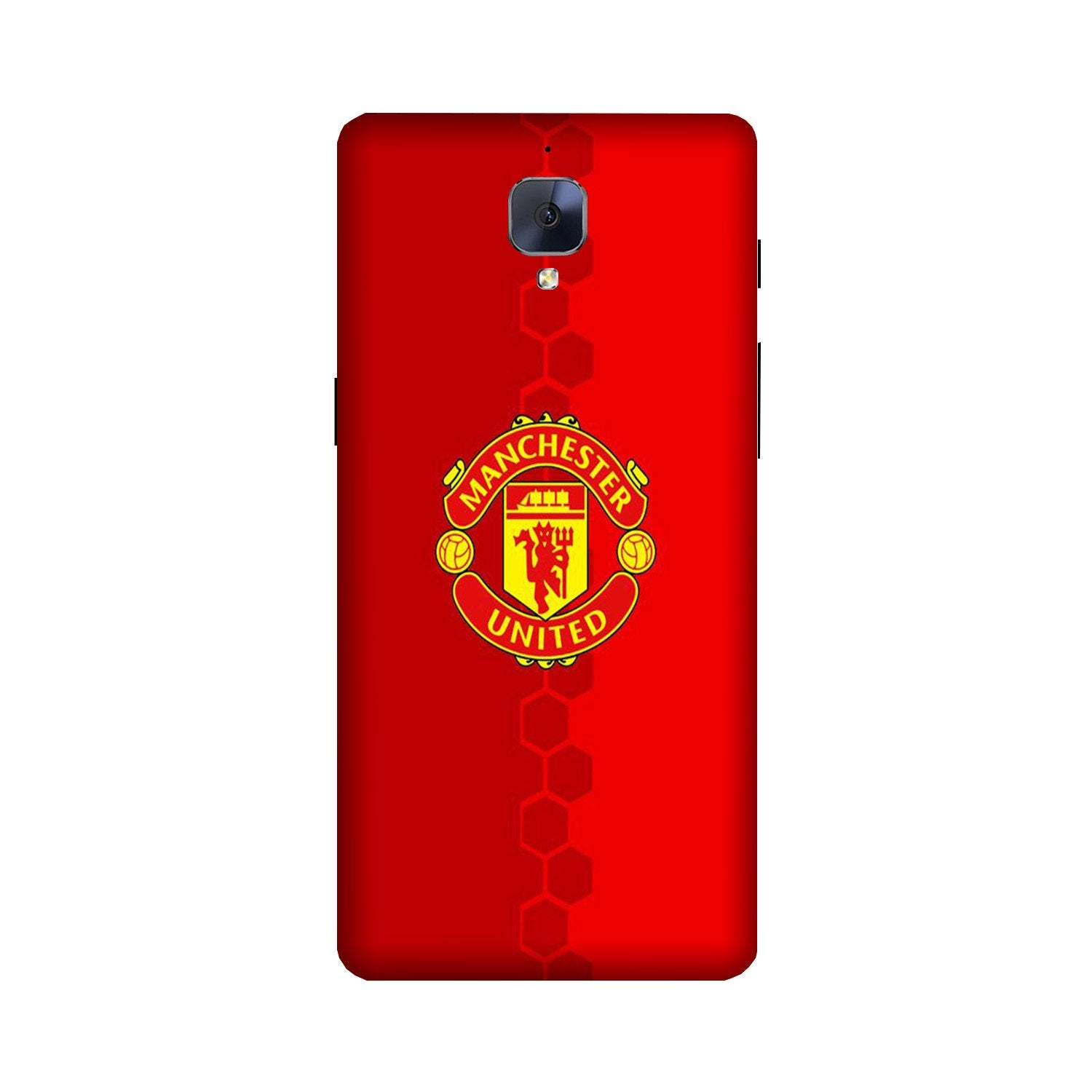 Manchester United Case for OnePlus 3/ 3T  (Design - 157)