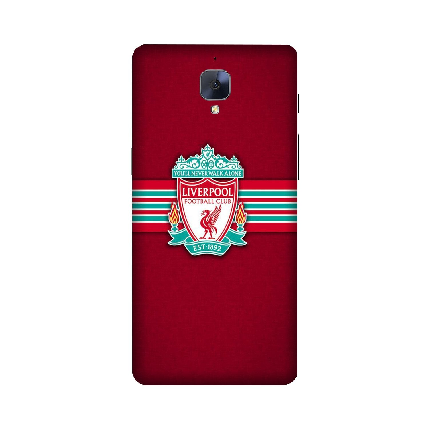Liverpool Case for OnePlus 3/ 3T  (Design - 171)