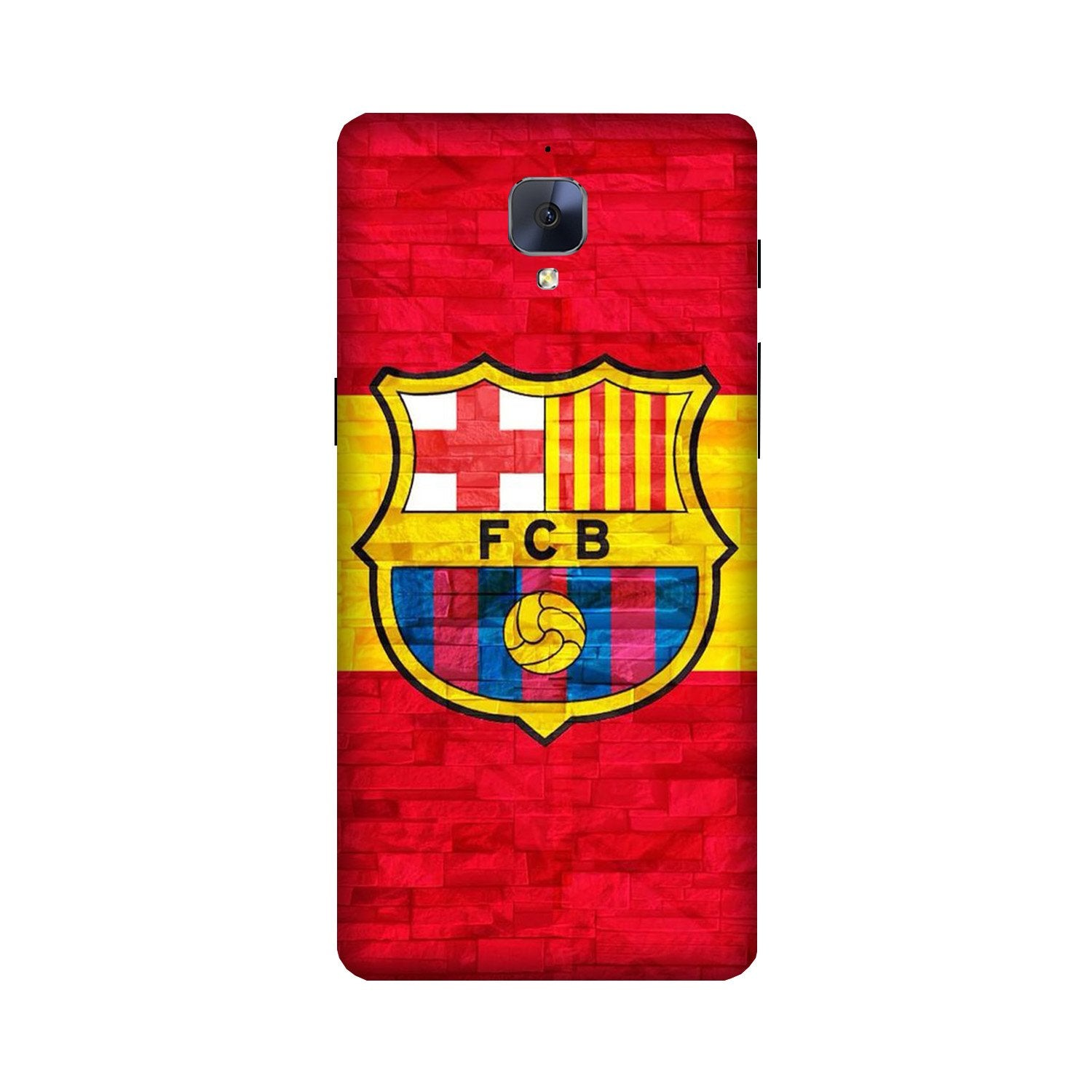 FCB Football Case for OnePlus 3/ 3T  (Design - 174)