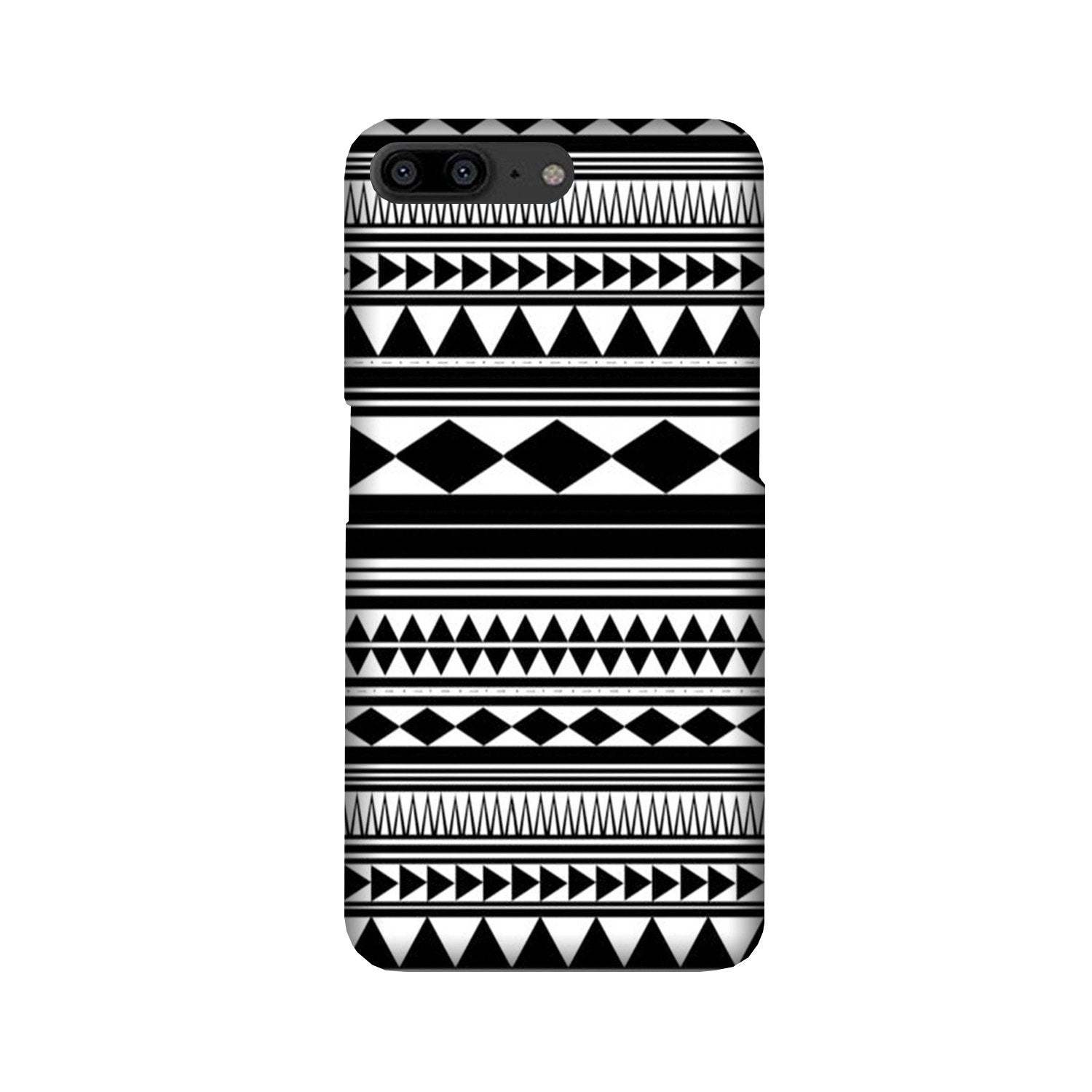 Black white Pattern Case for OnePlus 5