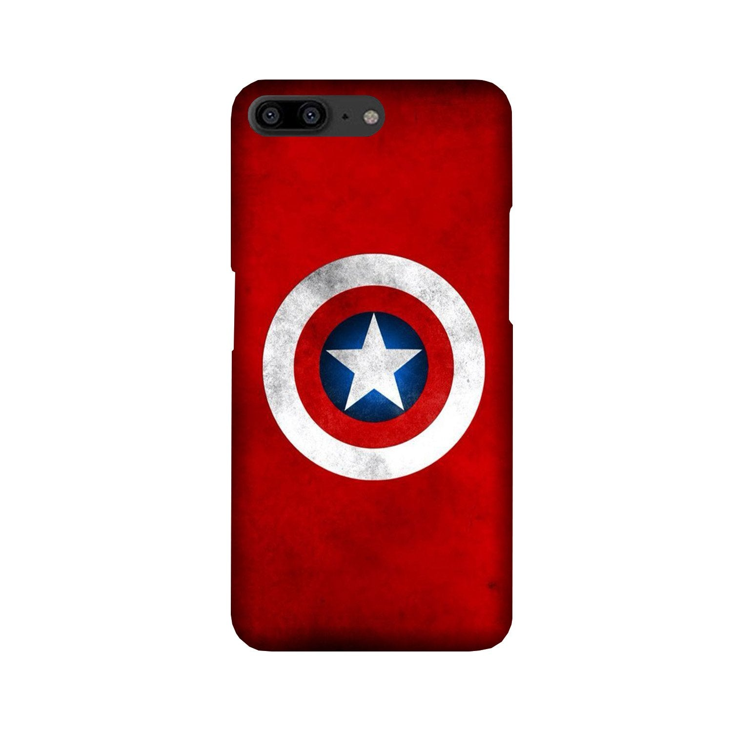 Captain America Case for OnePlus 5 (Design No. 249)