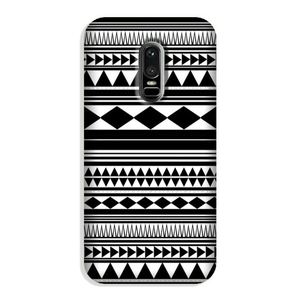 Black white Pattern Case for OnePlus 6