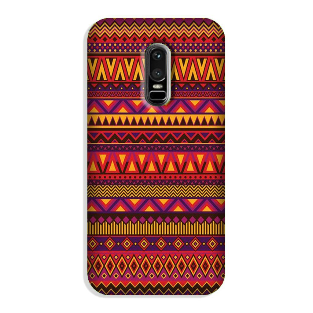 Zigzag line pattern2 Case for OnePlus 6