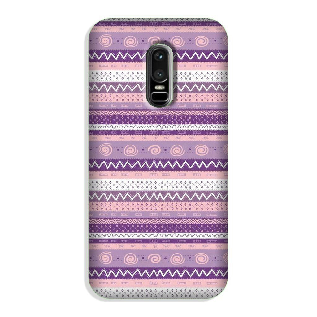 Zigzag line pattern3 Case for OnePlus 6