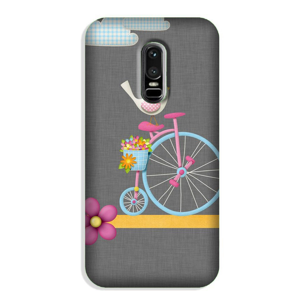 Sparron with cycle Case for OnePlus 6