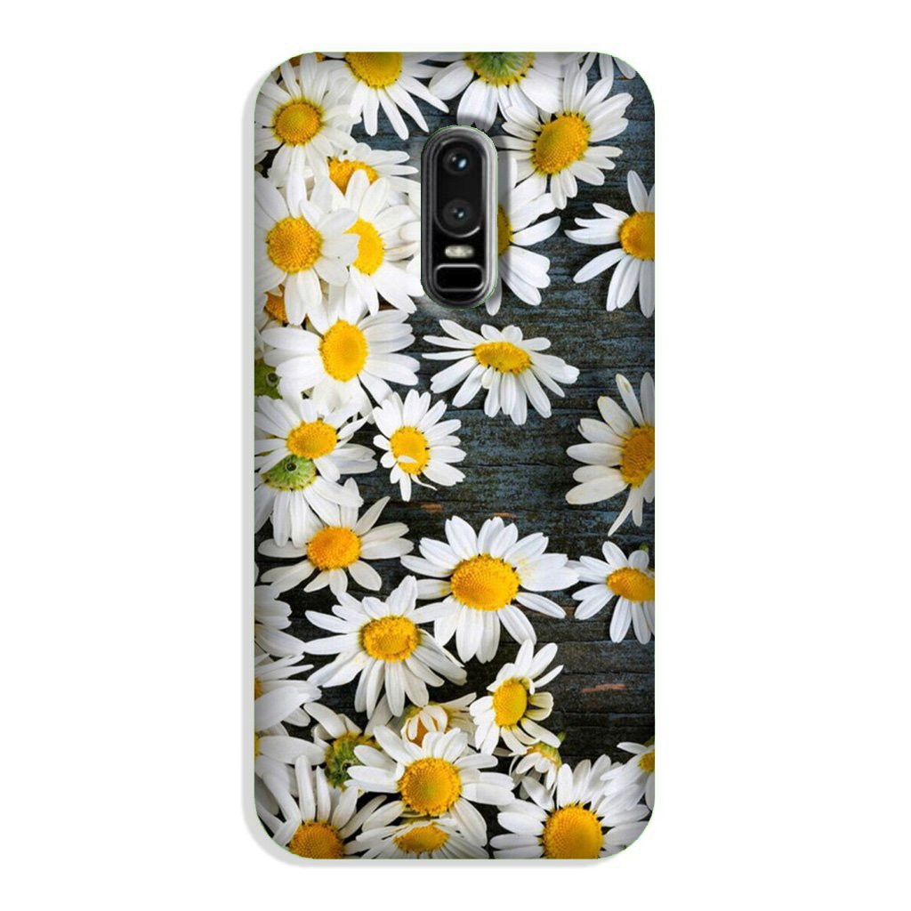 White flowers2 Case for OnePlus 6