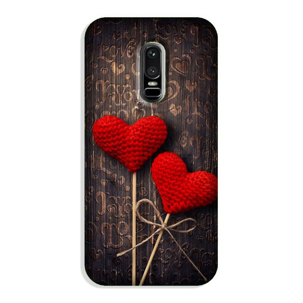 Red Hearts Case for OnePlus 6