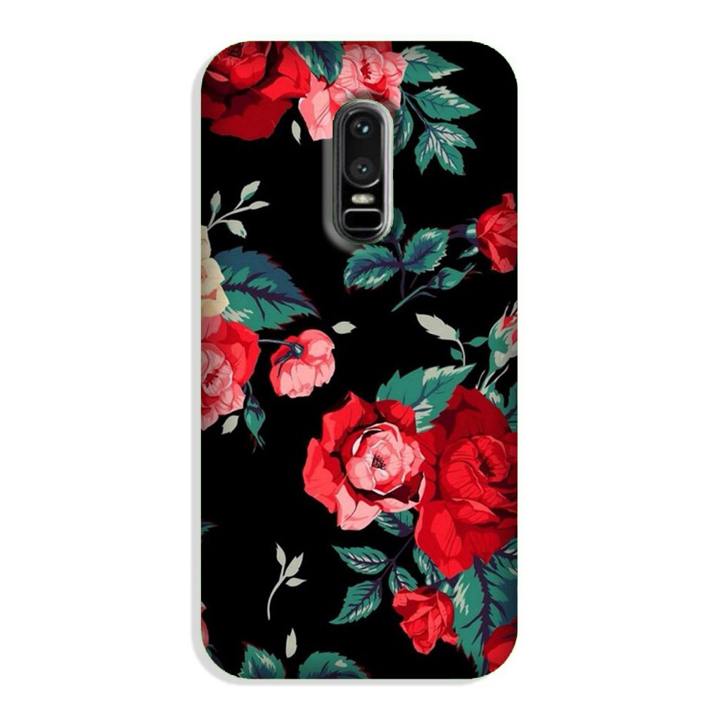 Red Rose2 Case for OnePlus 6