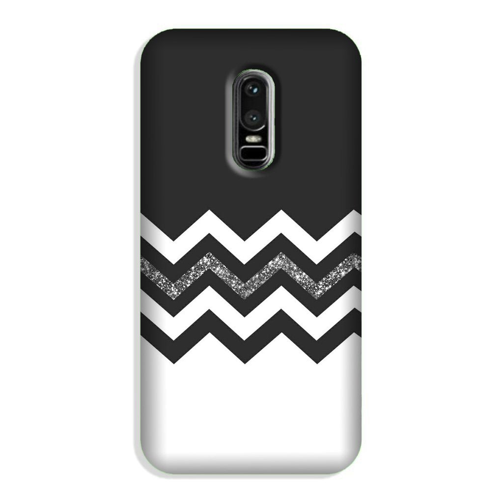 Black white Pattern2Case for OnePlus 6