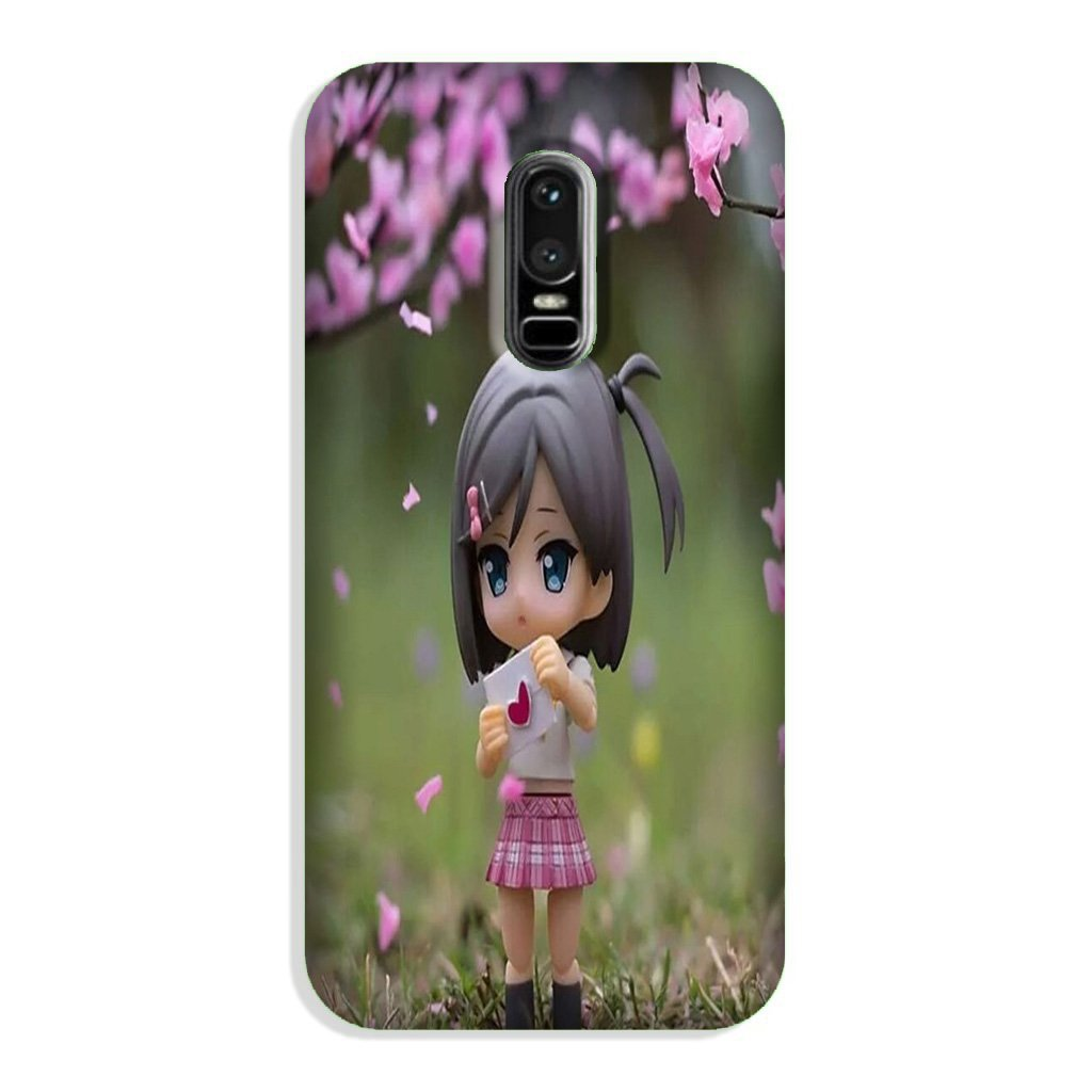 Cute Girl Case for OnePlus 6