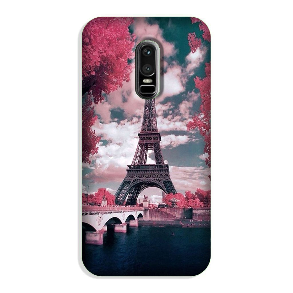 Eiffel Tower Case for OnePlus 6  (Design - 101)