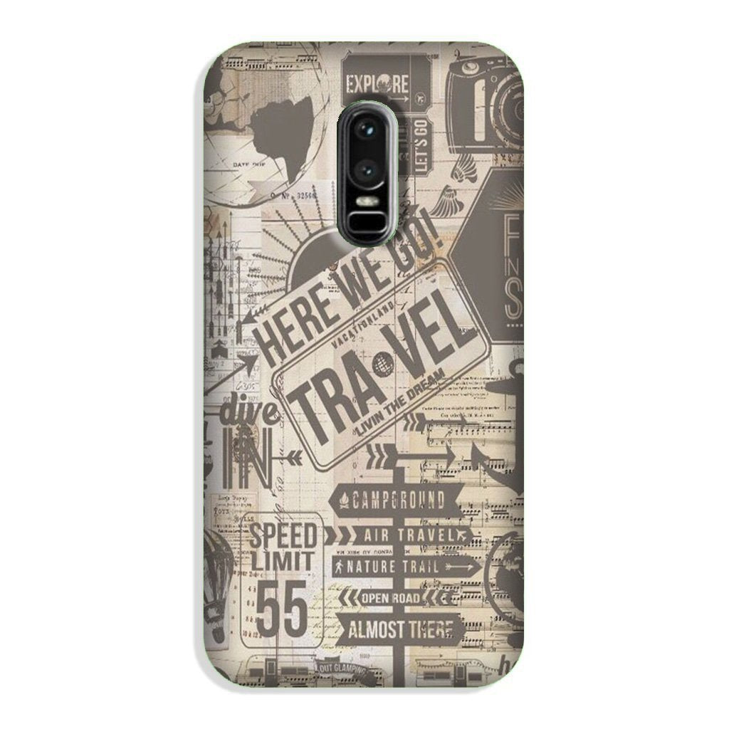 Travel Case for OnePlus 6  (Design - 104)