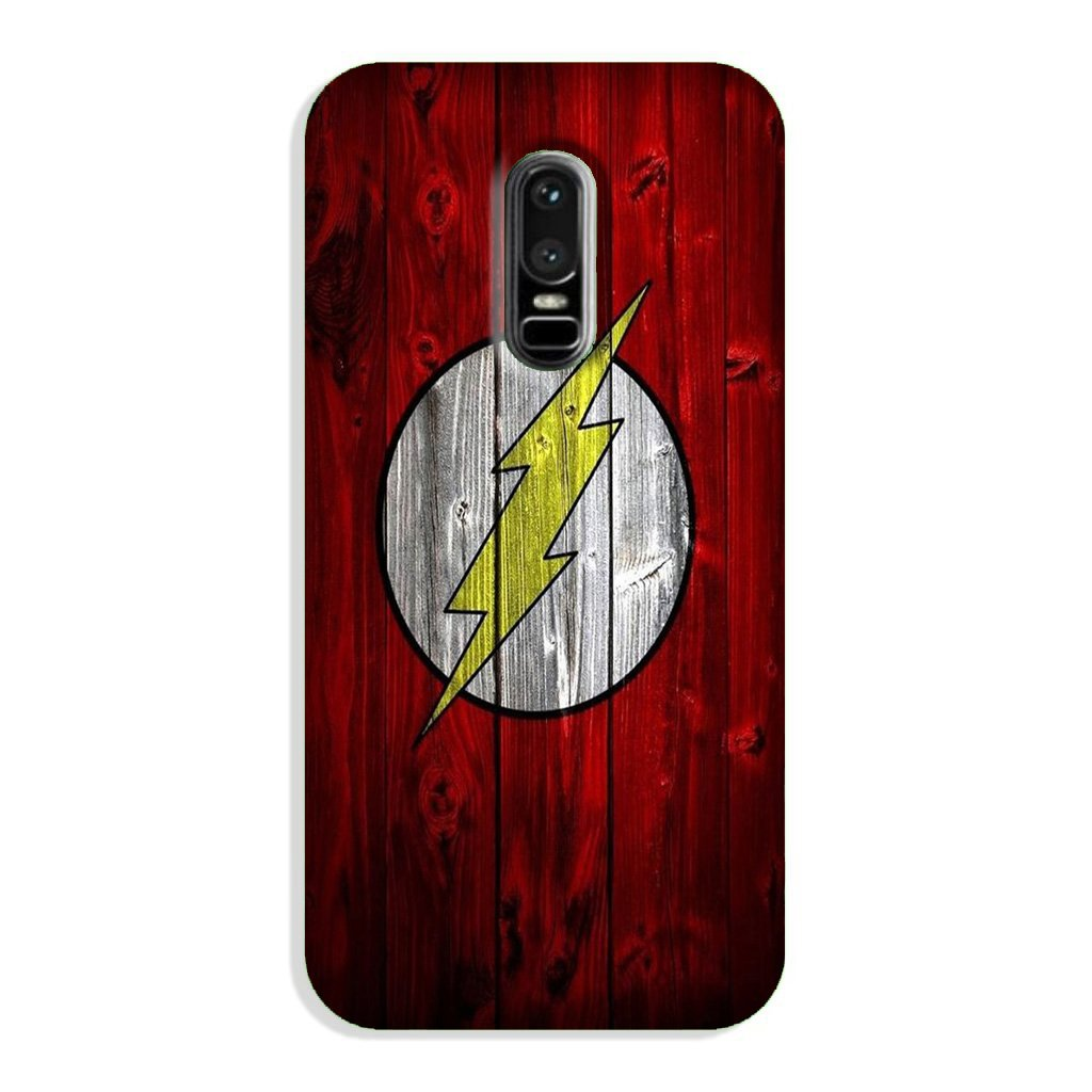 Flash Superhero Case for OnePlus 6  (Design - 116)