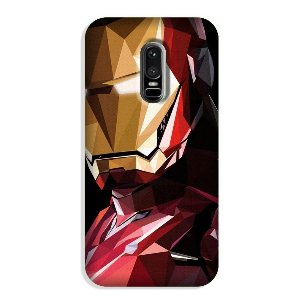 Iron Man Superhero Case for OnePlus 6  (Design - 122)