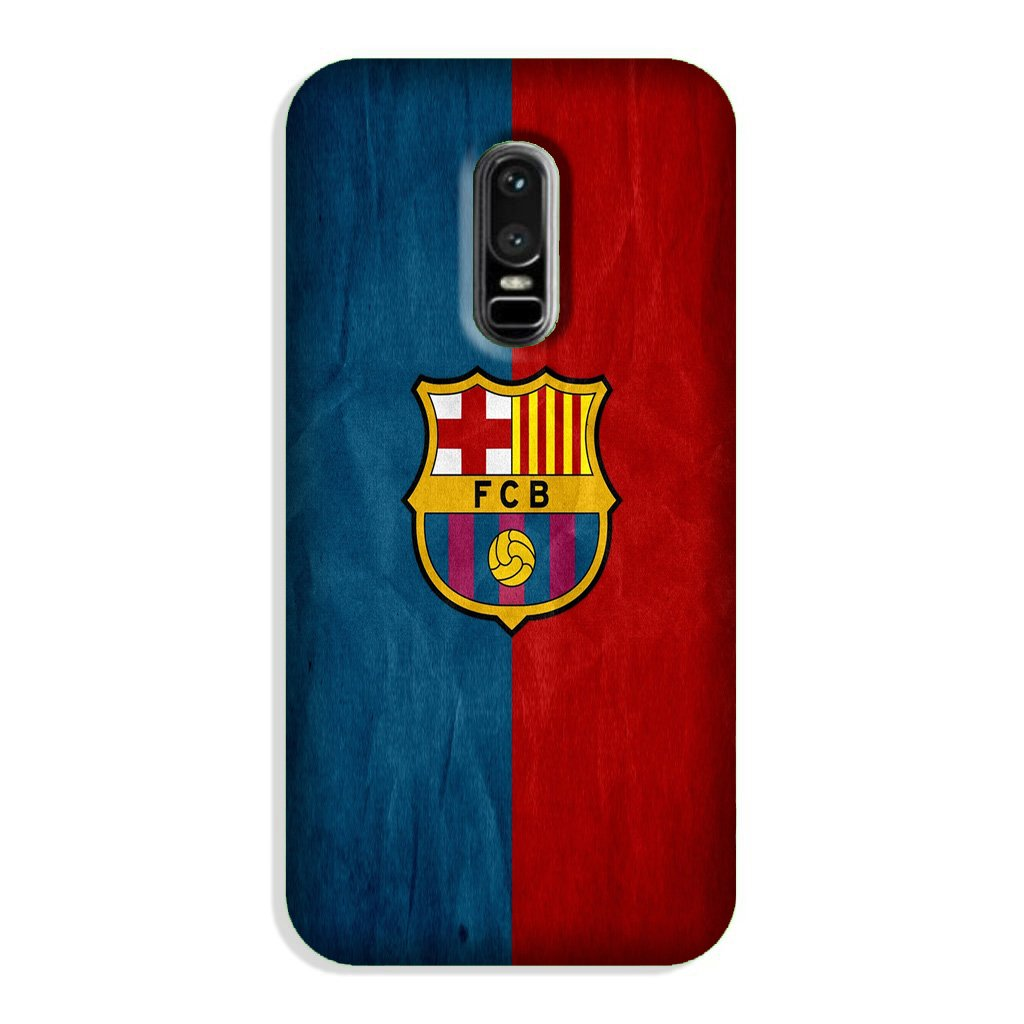FCB Football Case for OnePlus 6  (Design - 123)