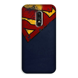 Superman Superhero Case for OnePlus 6  (Design - 125)
