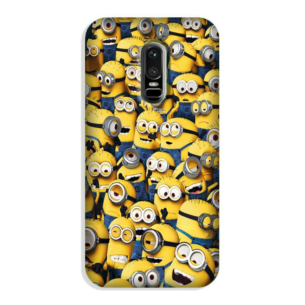 Minions Case for OnePlus 6  (Design - 126)