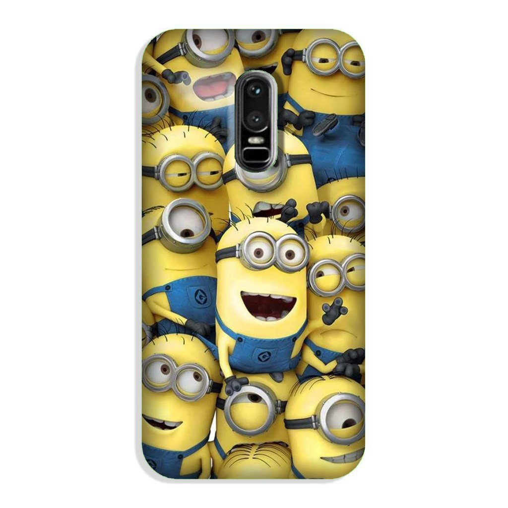 Minions Case for OnePlus 6  (Design - 127)