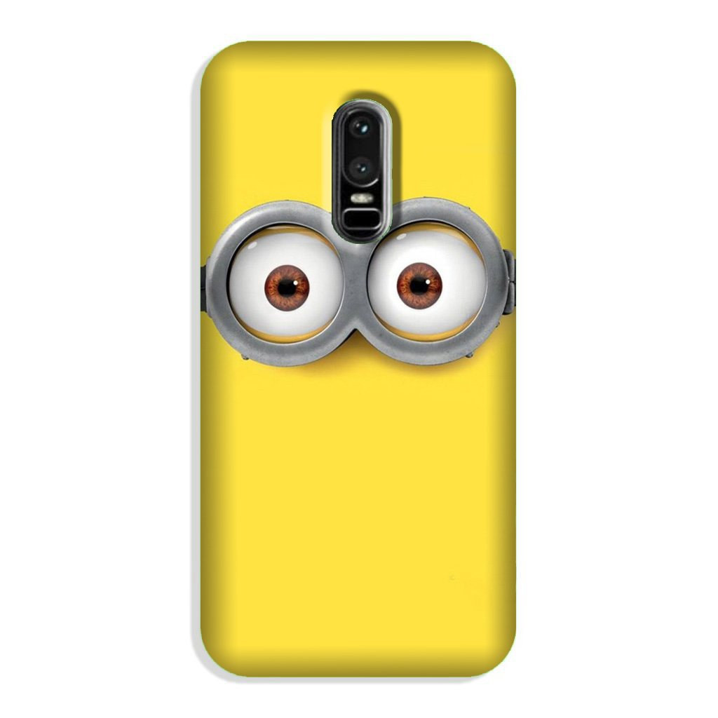 Minions Case for OnePlus 6  (Design - 128)