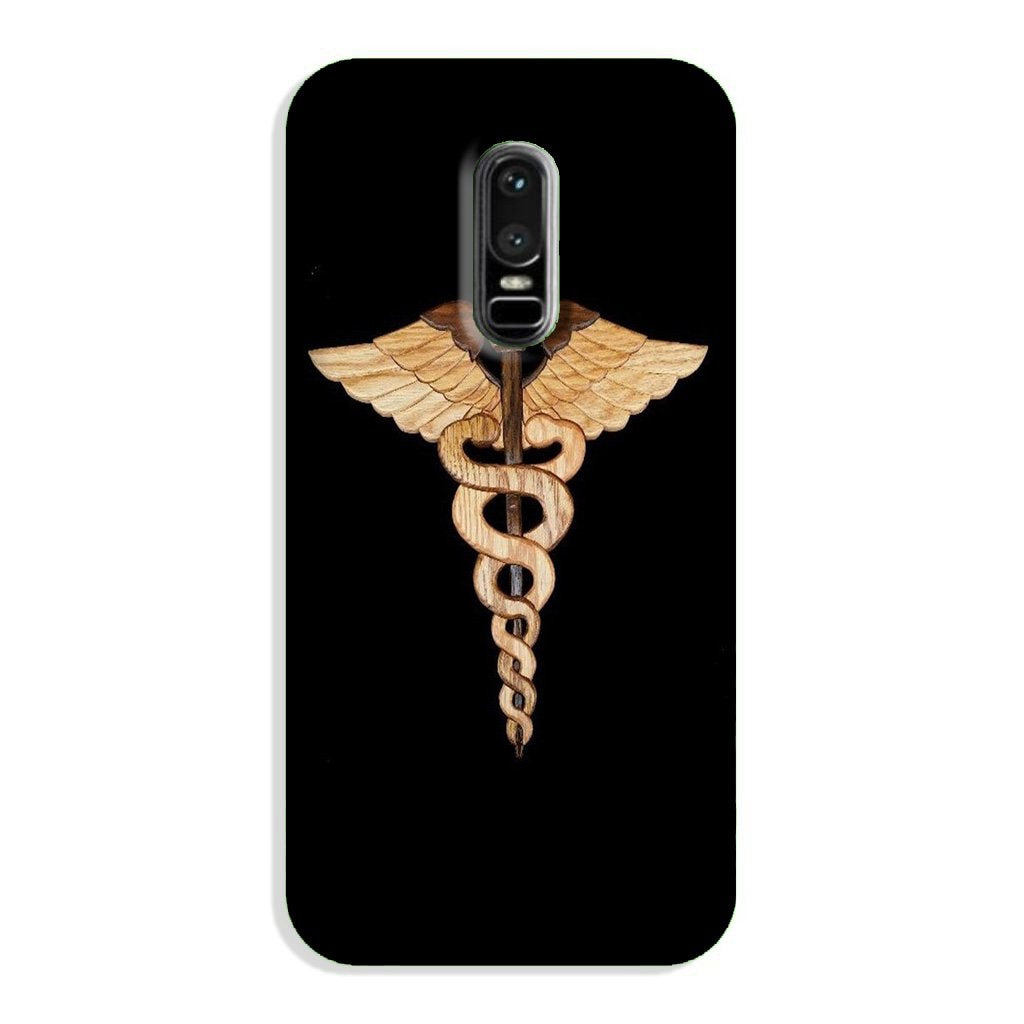 Doctor Logo Case for OnePlus 6  (Design - 134)