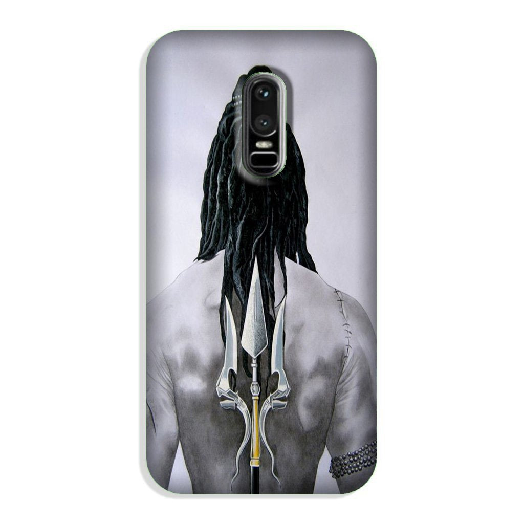 Lord Shiva Case for OnePlus 6  (Design - 135)