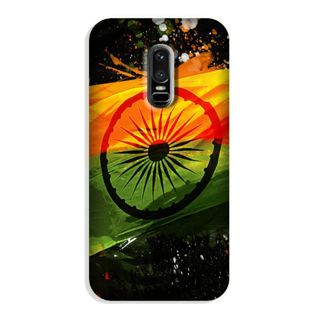 Indian Flag Case for OnePlus 6  (Design - 137)