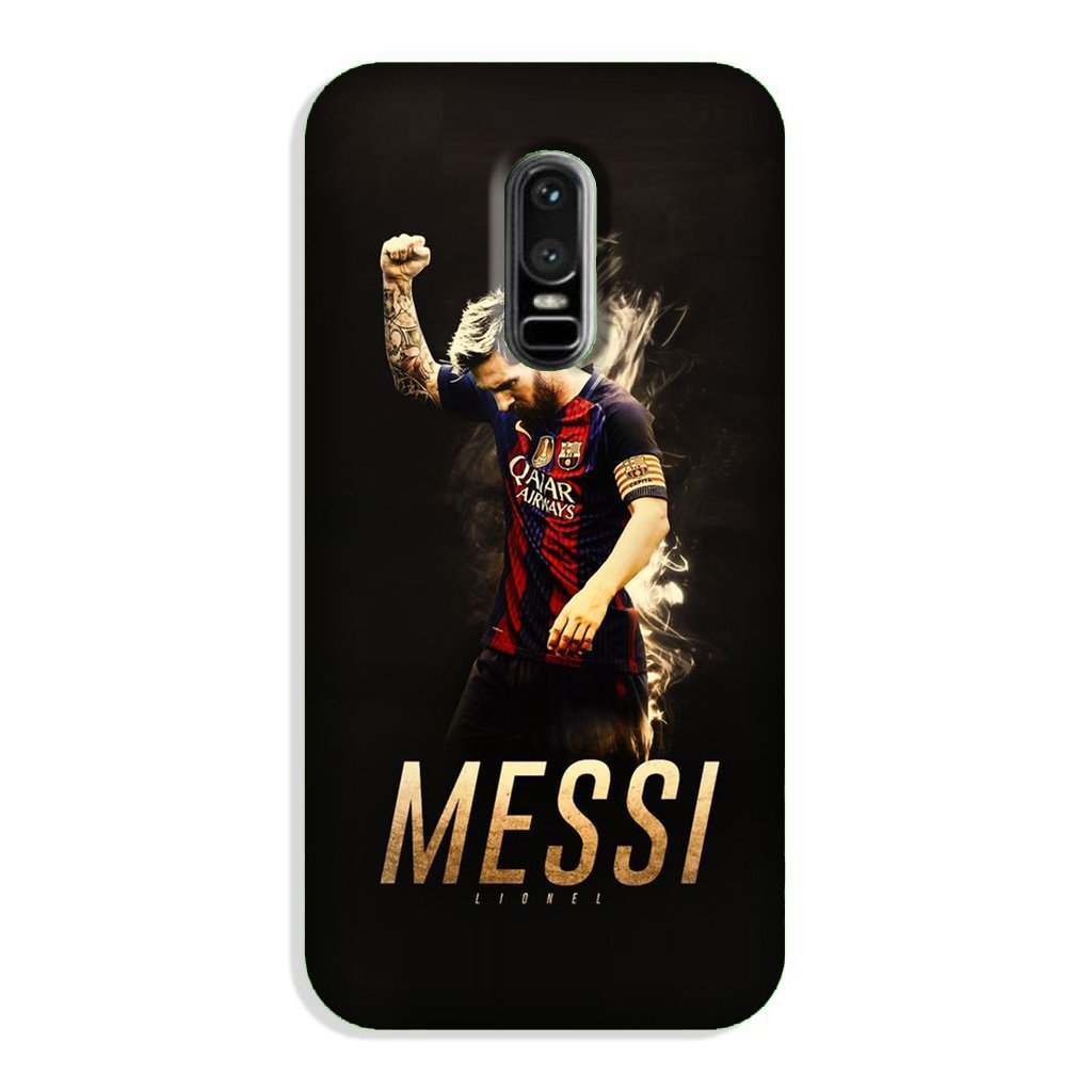 Messi Case for OnePlus 6  (Design - 163)