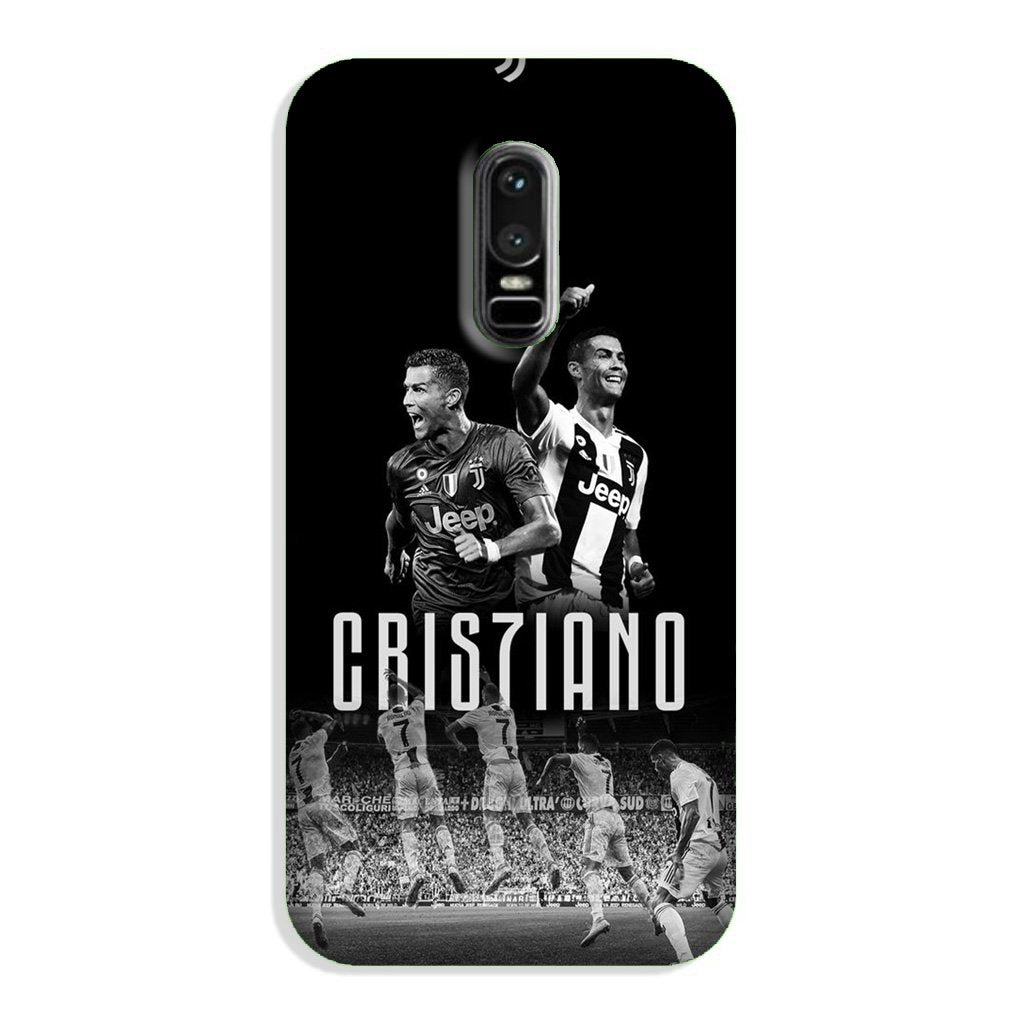 Cristiano Case for OnePlus 6  (Design - 165)