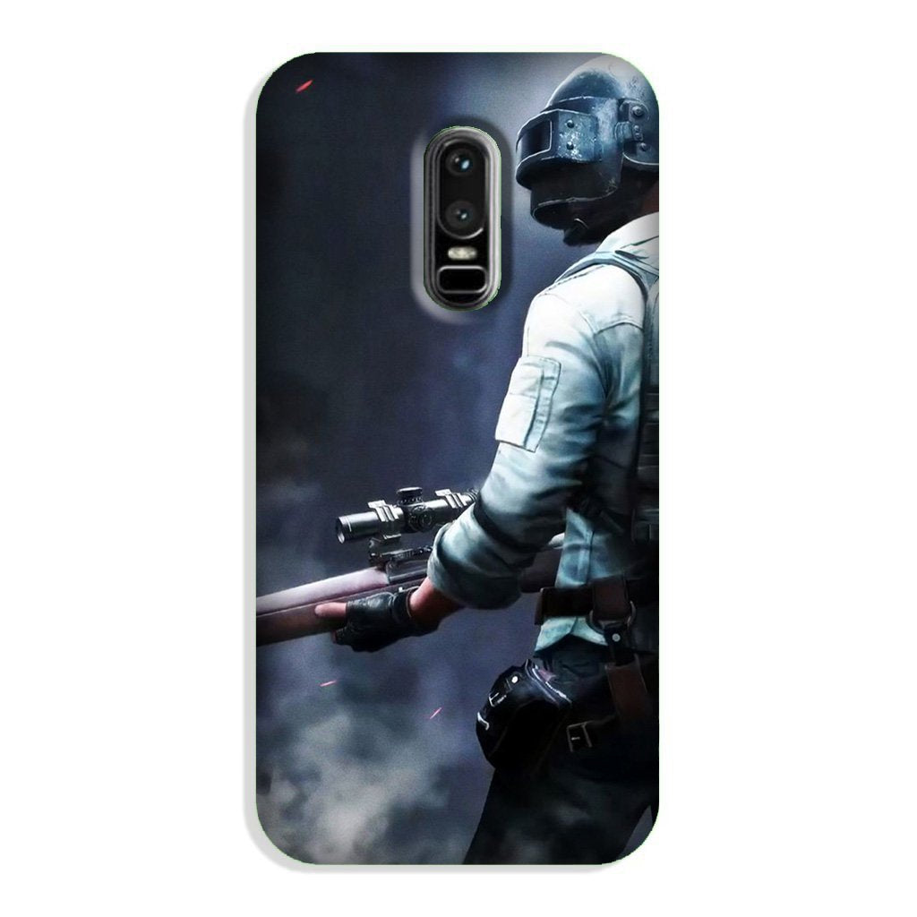 Pubg Case for OnePlus 6  (Design - 179)