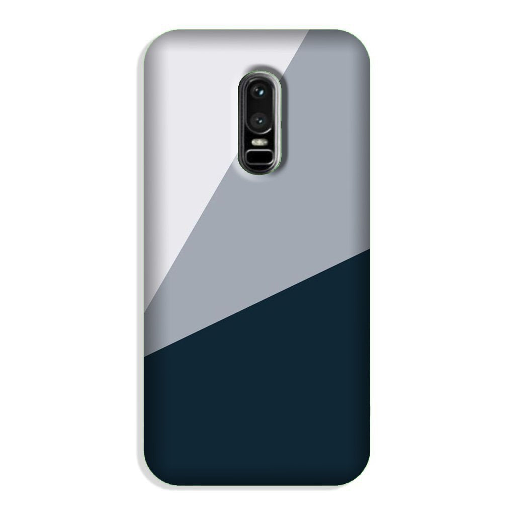 Blue Shade Case for OnePlus 6 (Design - 182)