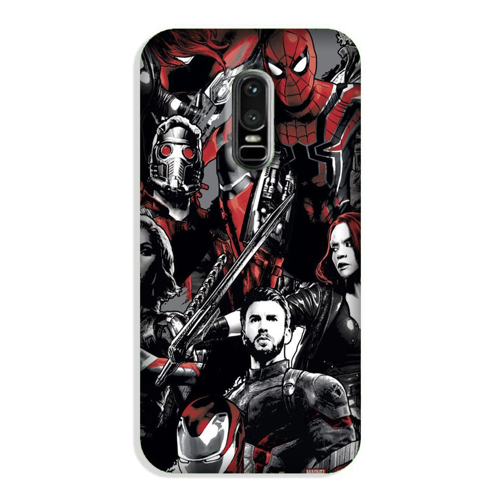 Avengers Case for OnePlus 6 (Design - 190)