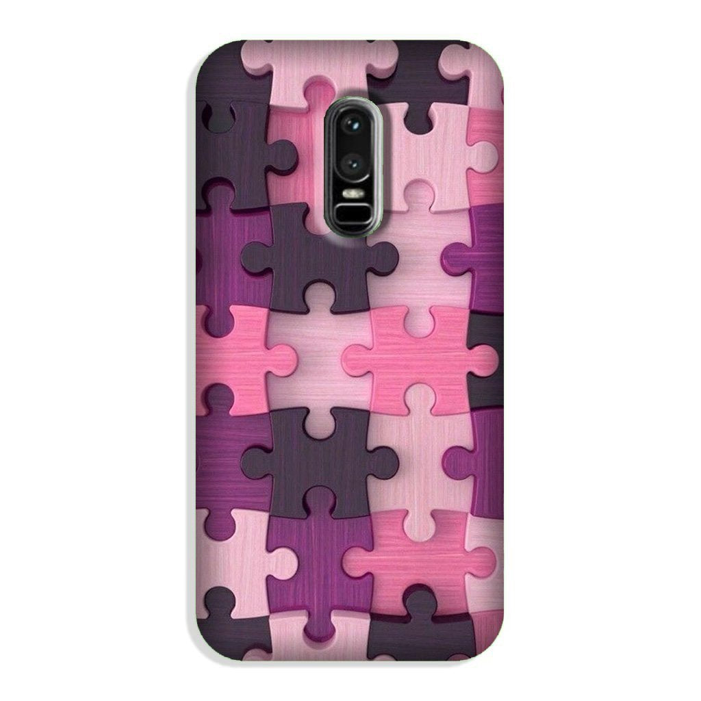 Puzzle Case for OnePlus 6 (Design - 199)